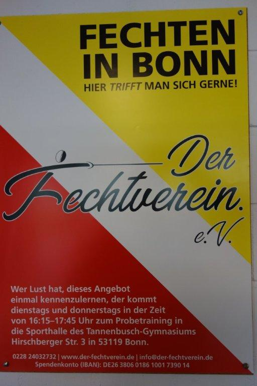 Der Fechtverein 078 Plakat 01 21